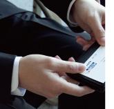 名刺交換の写真2