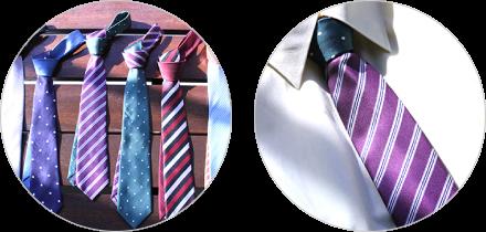 ネクタイのリメイク例